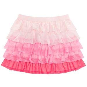 Toddler Girls Tiered Colorblock Skirt